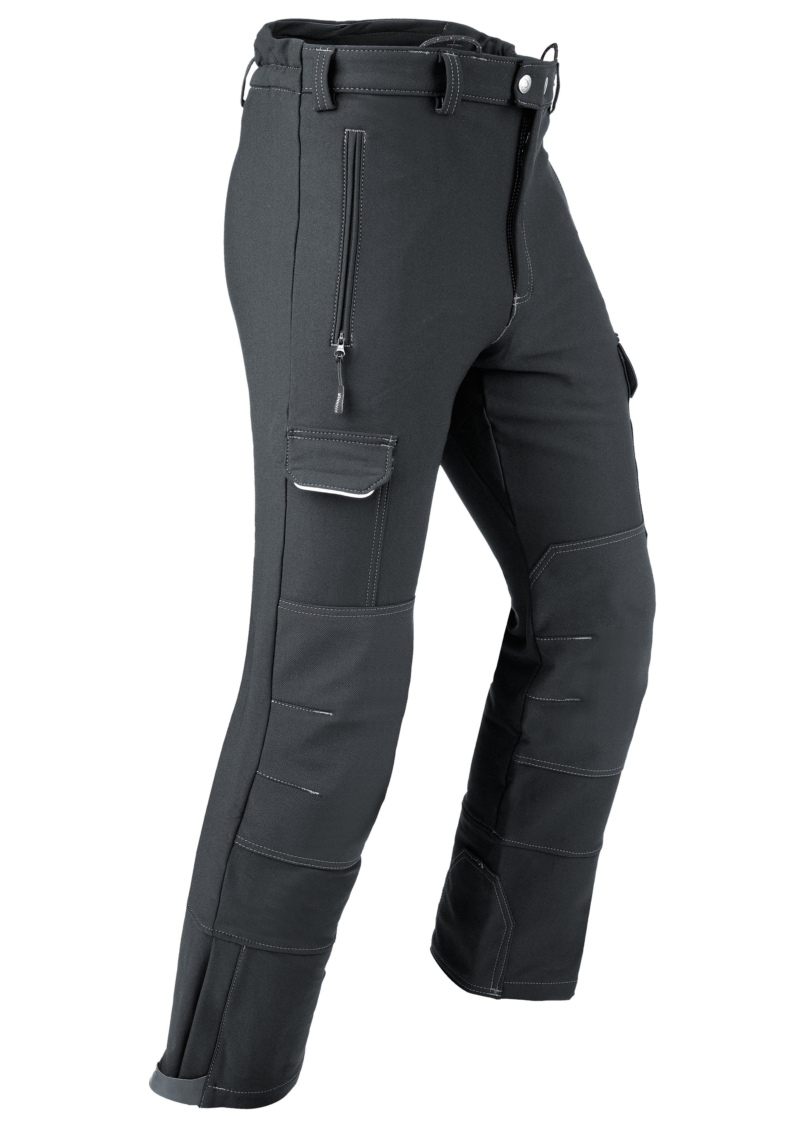 Pantalon stretch Thermo Outdoor en mérinos 288810M 1