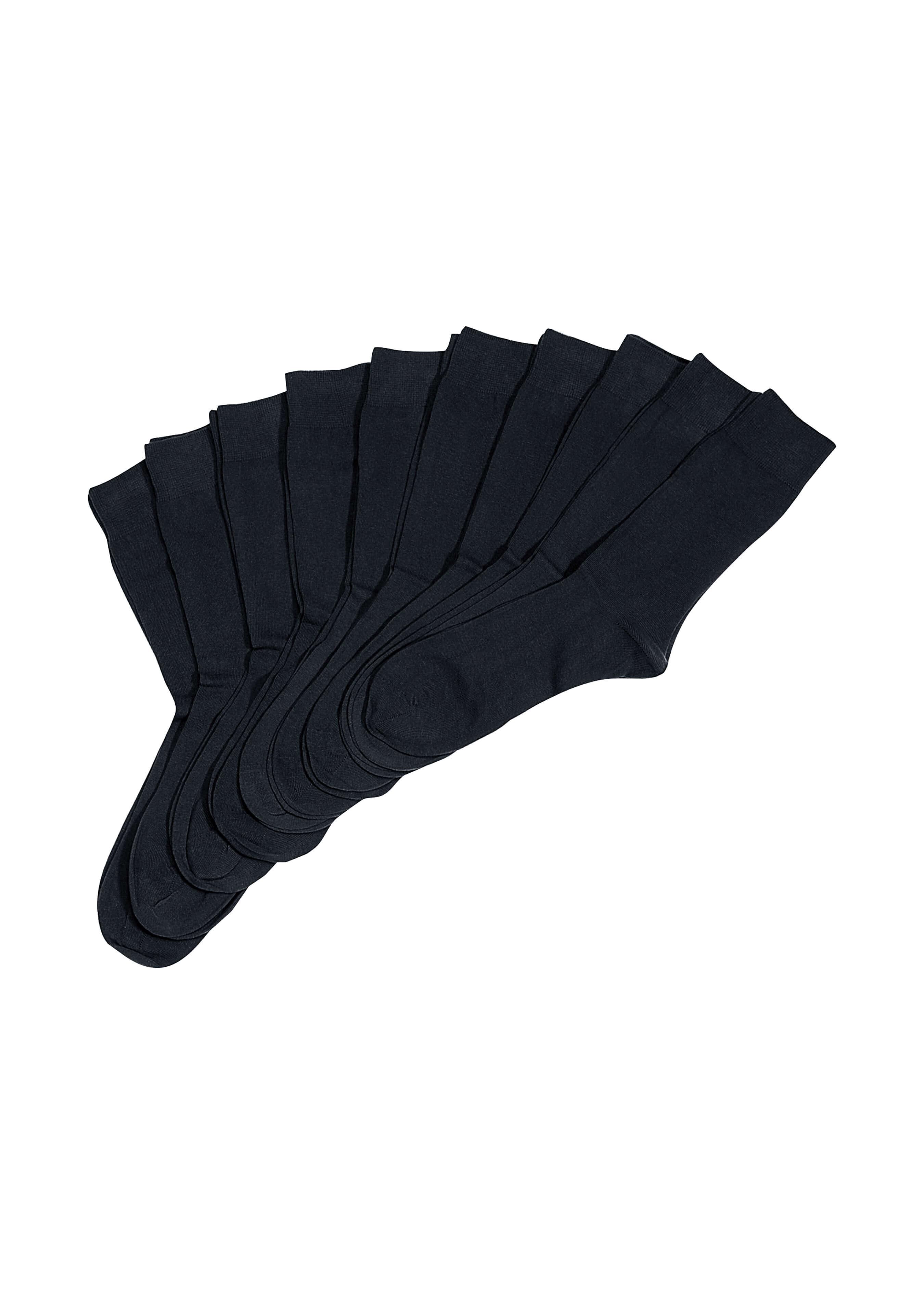 Chaussettes pour dames et messieurs, 10 paires L1913438 2