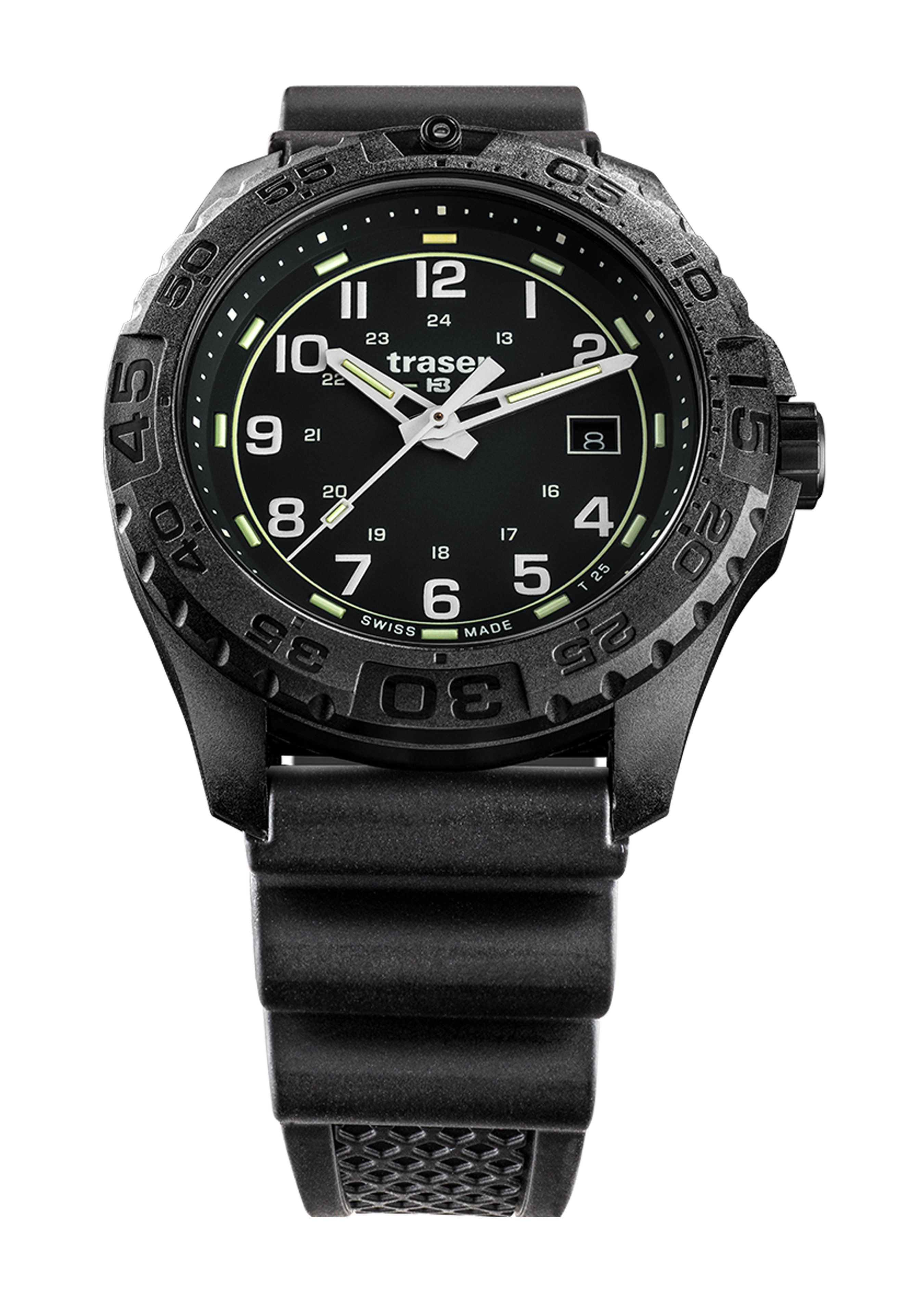 Traser Uhren Armbanduhr P96 Evolution, Kautschuk 245103 1