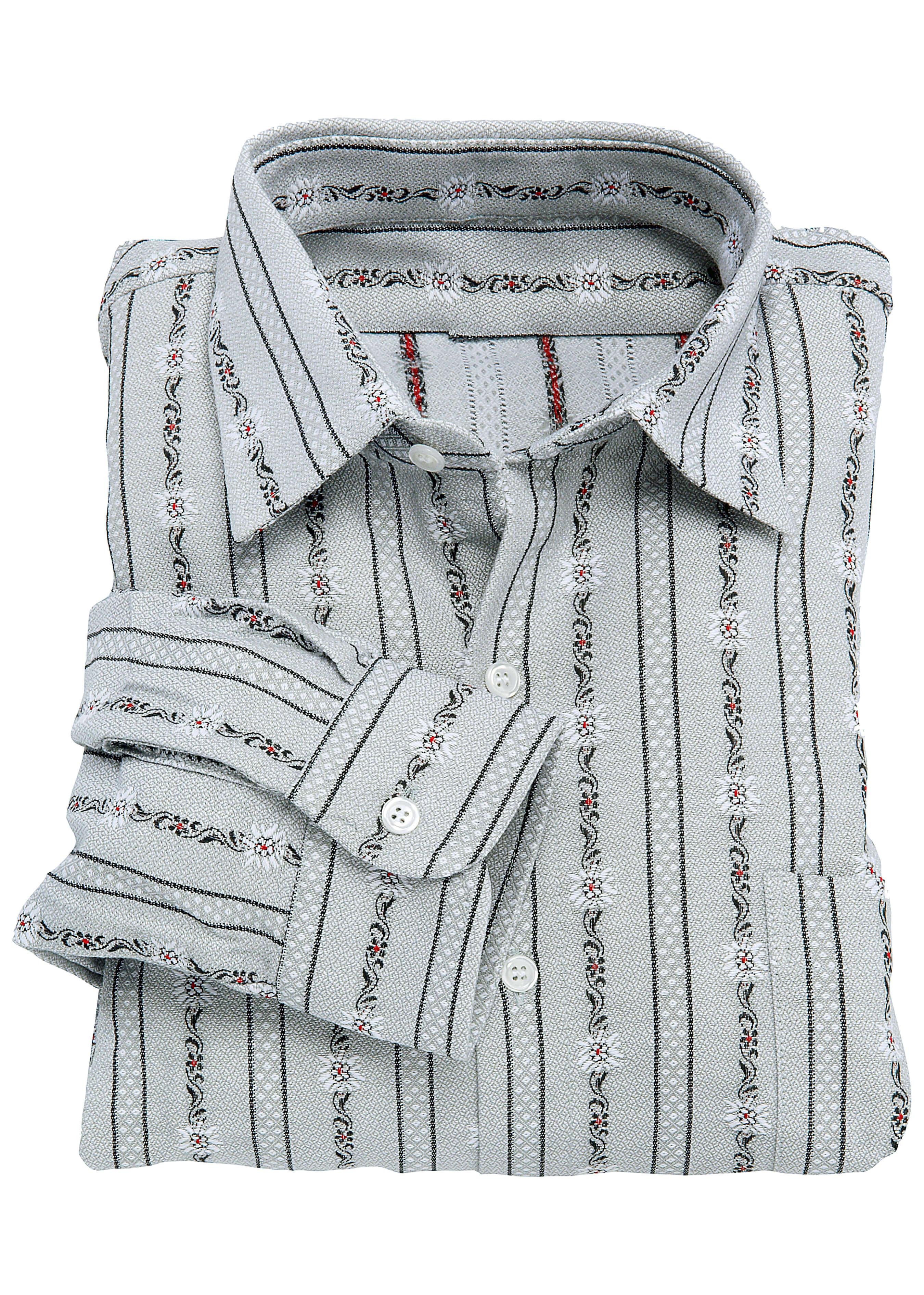 Edelweiss Hemd langarm, gerader Saum 27241336 1