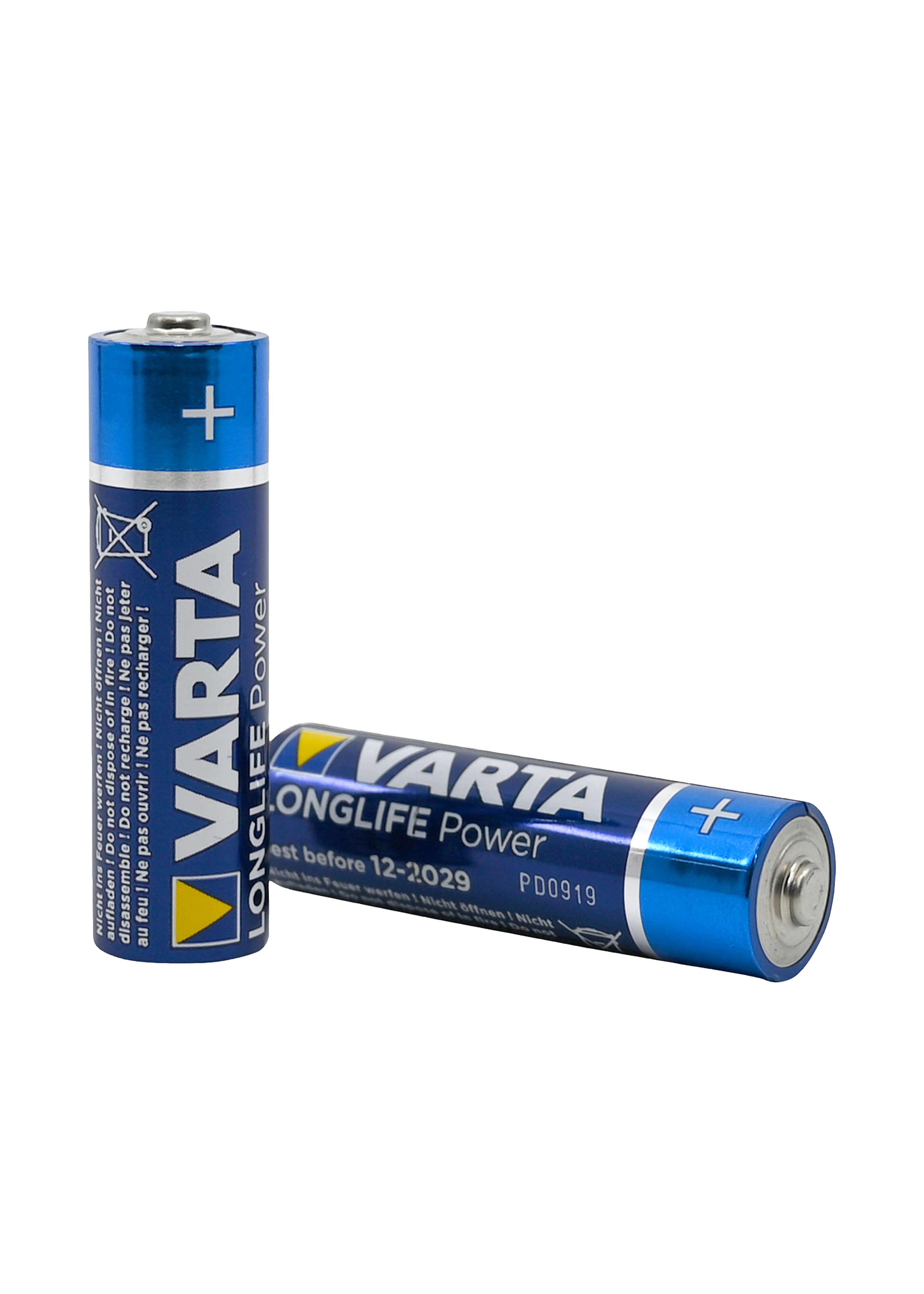 Varta 4 High Energy Batterien AA / LR06 L3582 2