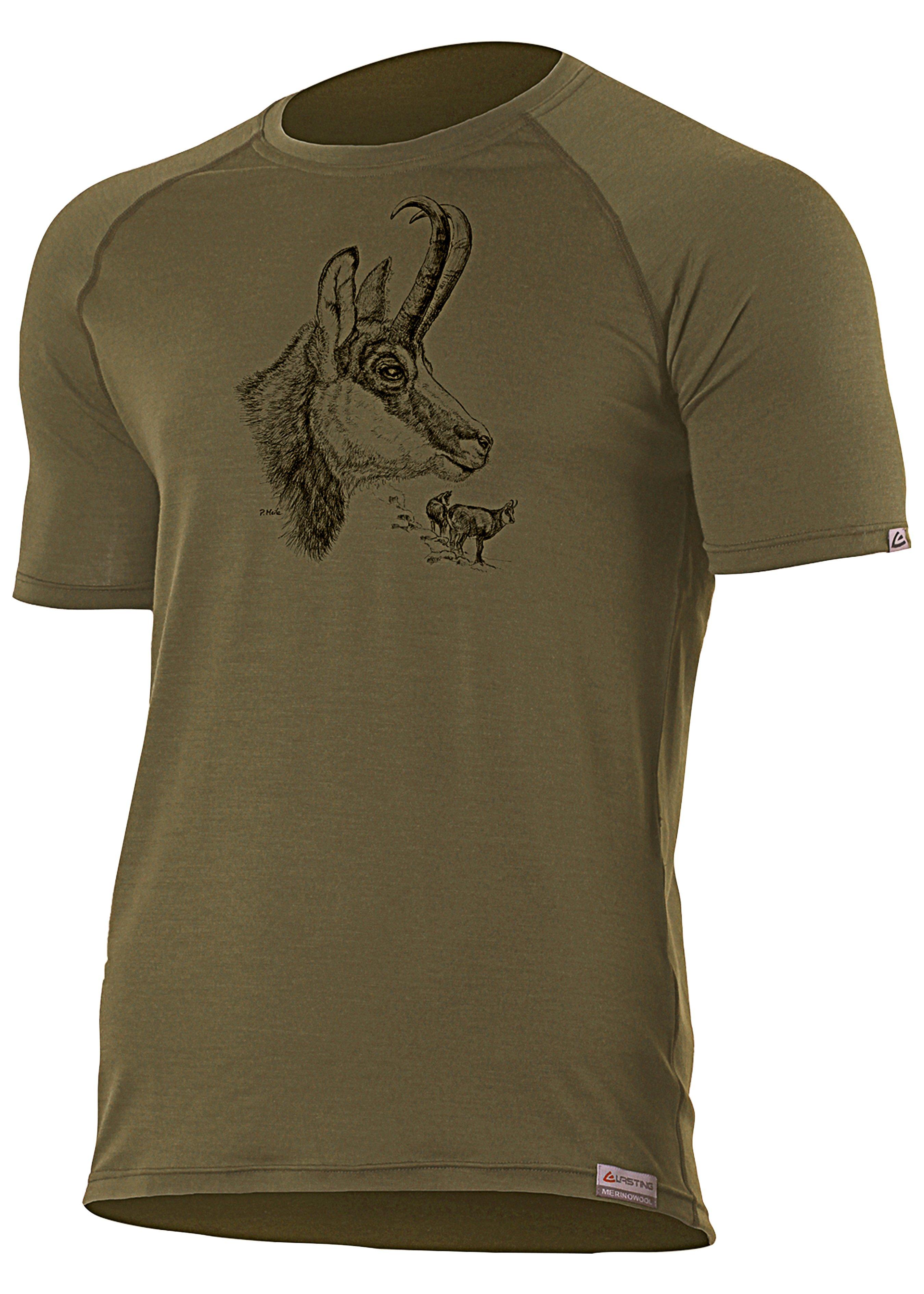 Merino T-Shirt Gemse 231001L 1