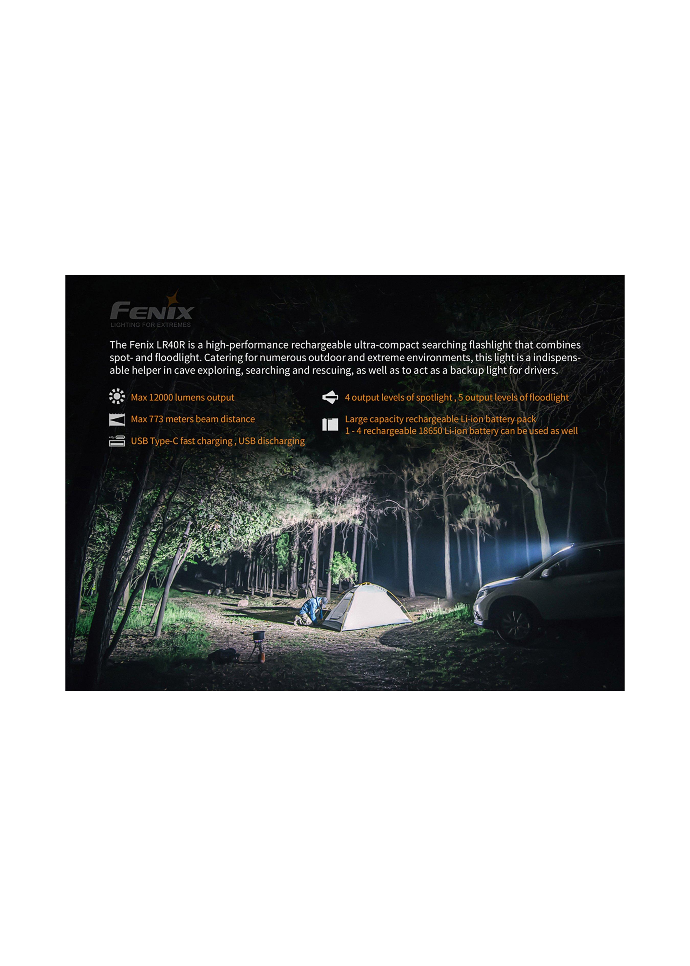 Fenix LR40R Such-Taschenlampe 254610 4
