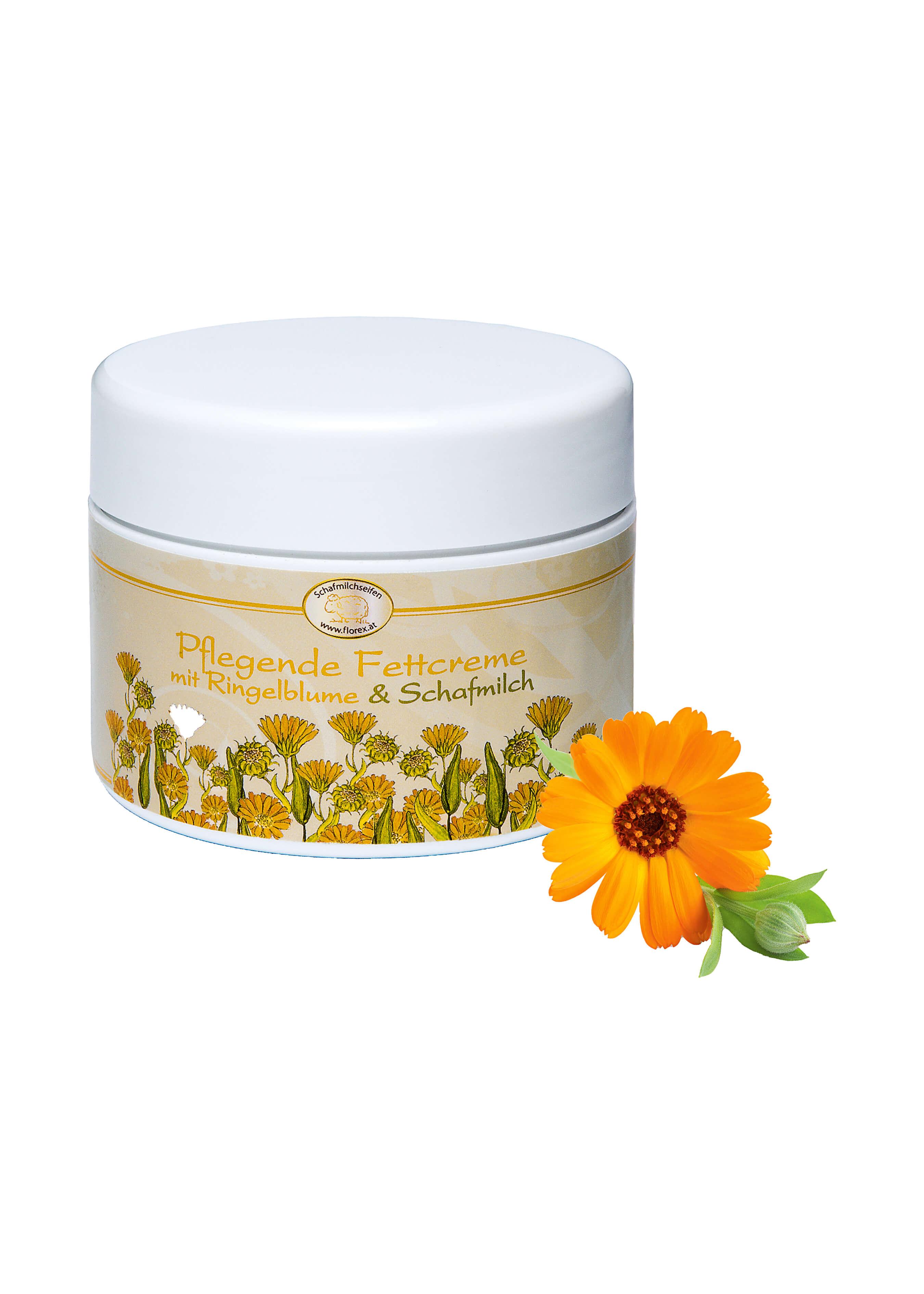 Fettcrème Ringelblume mit Schafmilch L19400 2