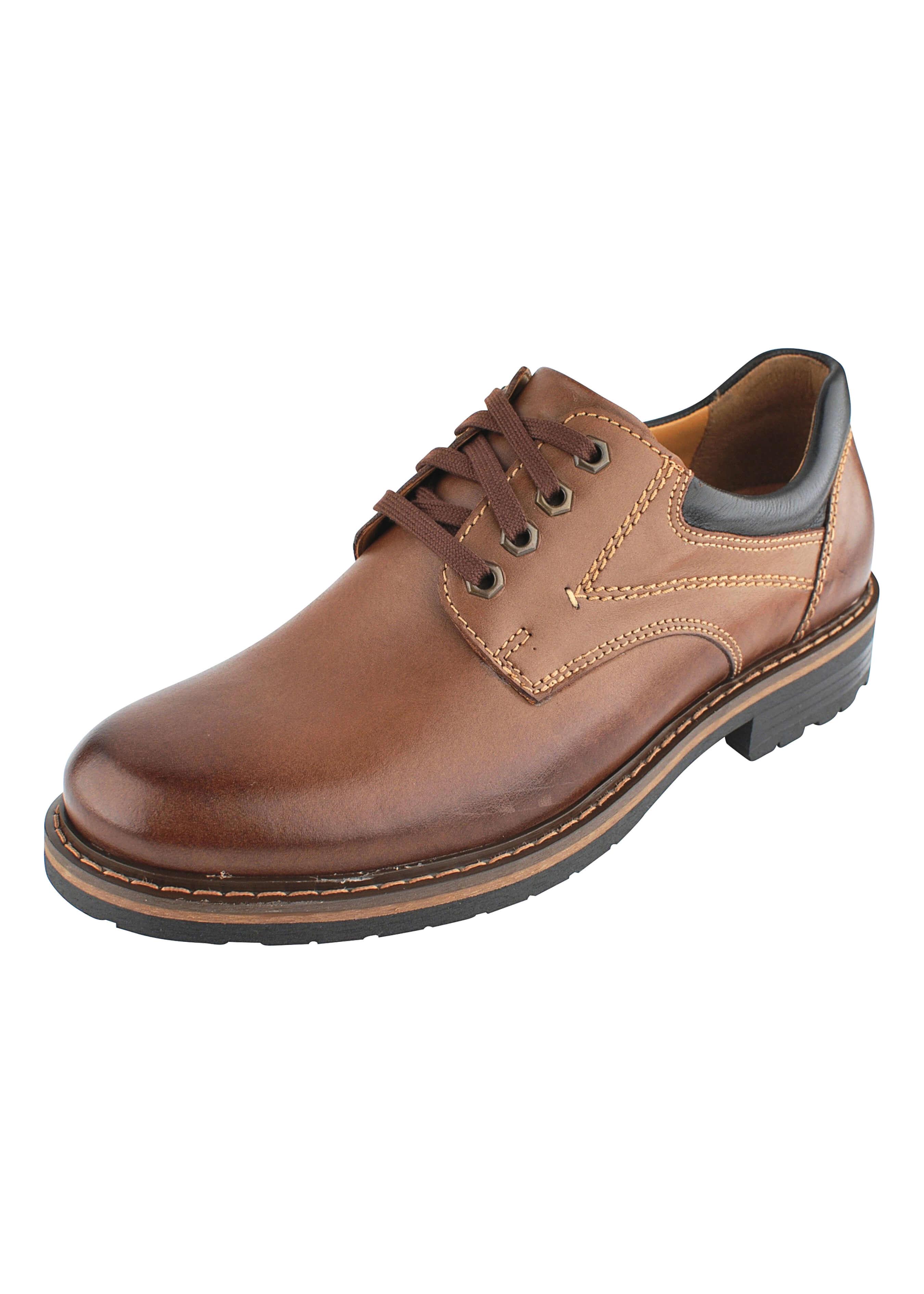 Chaussure à lacet en cuir, 41004039 1