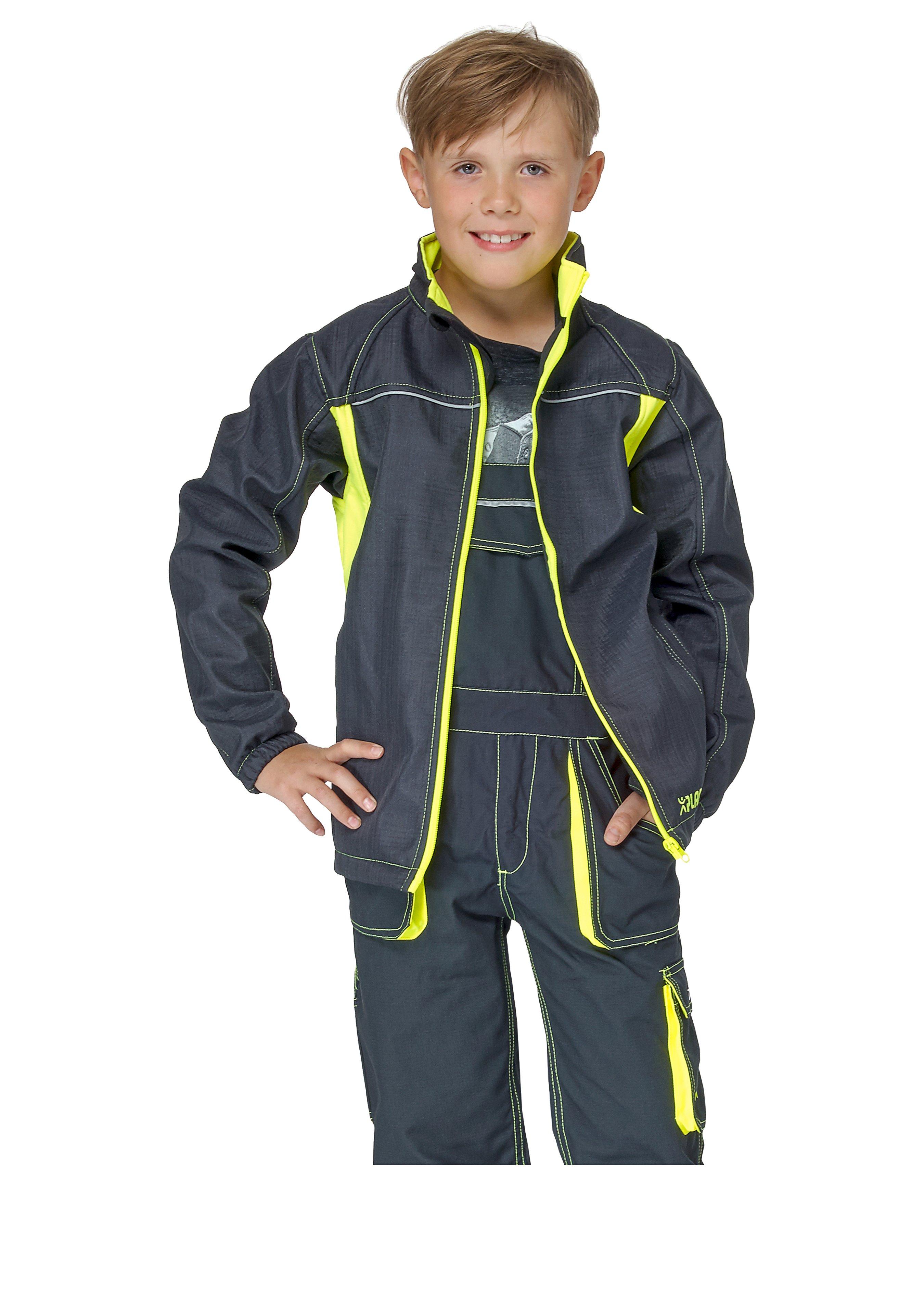 Planam Kinder-Softshelljacke Junior 183312110 1
