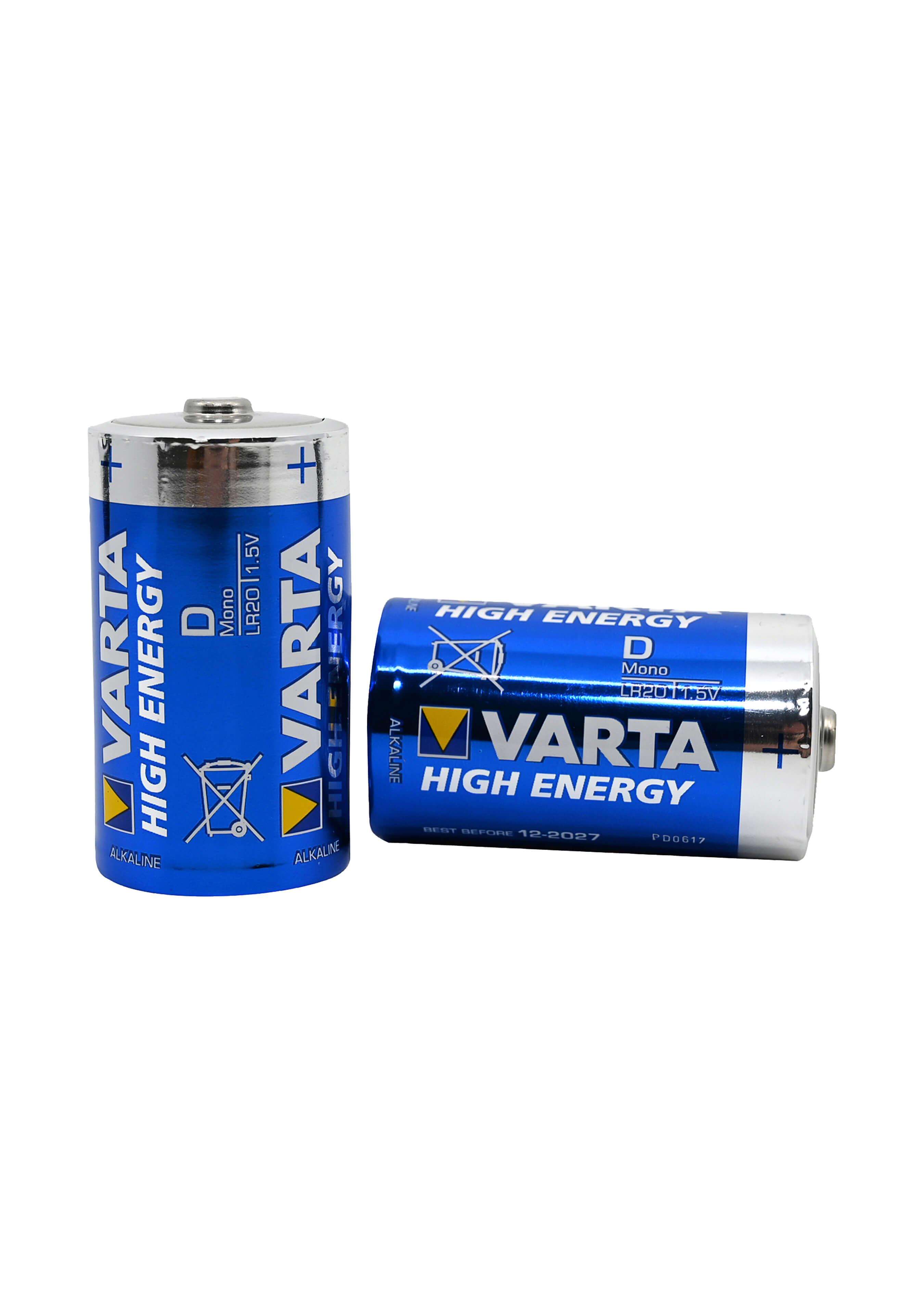 Varta 2 High Energy Batterien D / LR20 L3584 2