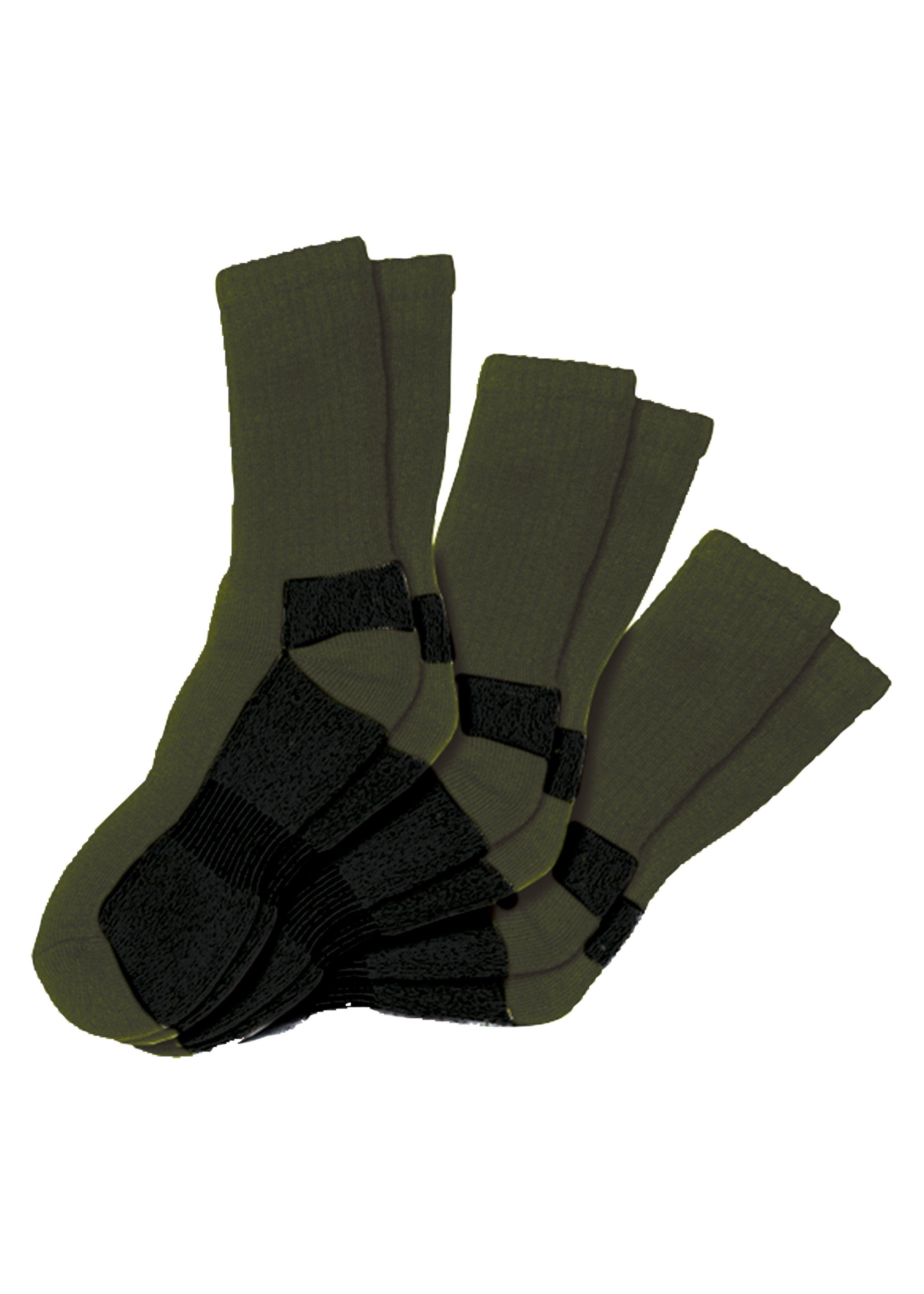 Chaussettes de travail et de forestier 3 paires 27772339 2