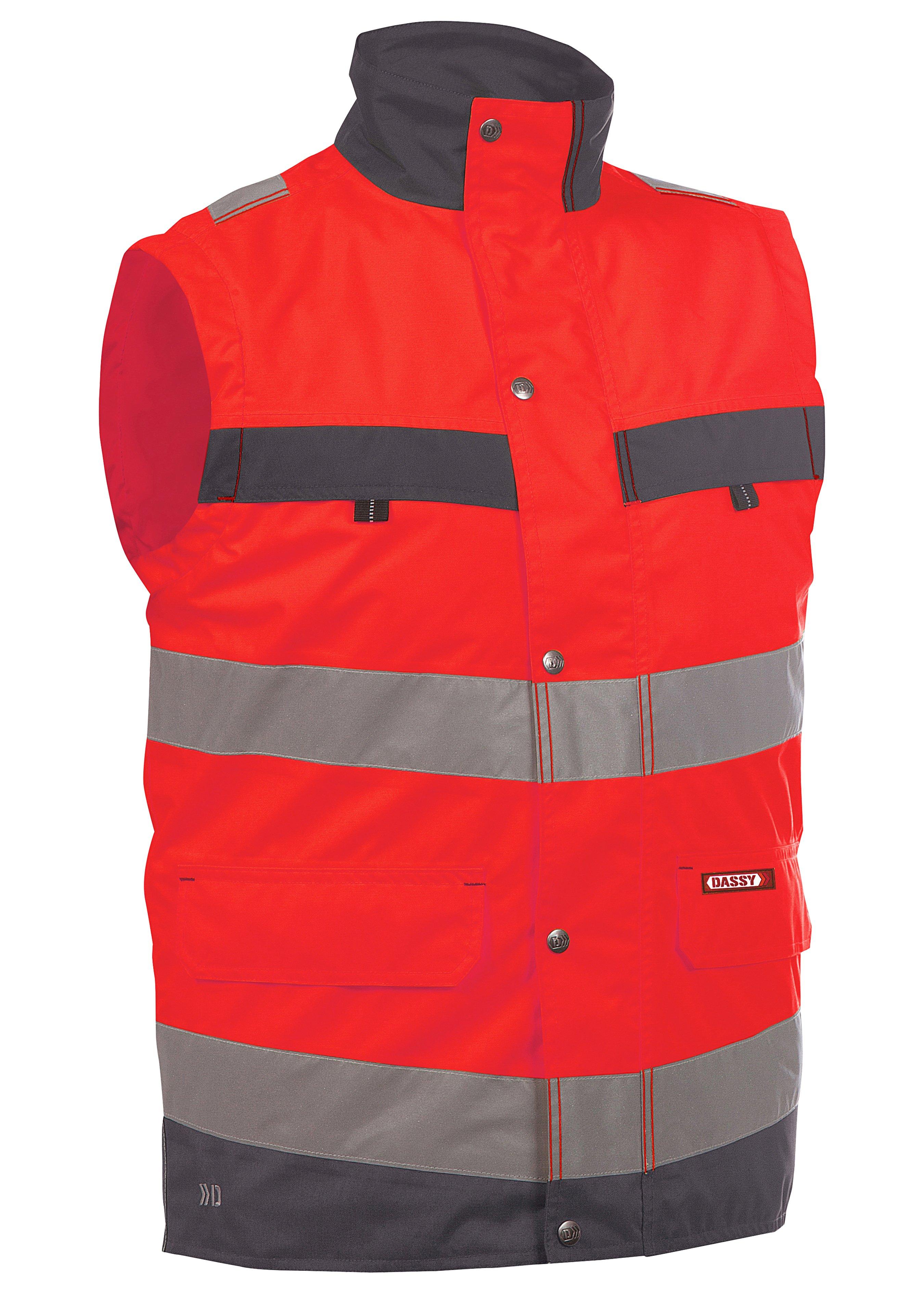 Dassy Warnschutz Weste Bilbao 350100 224743L 1
