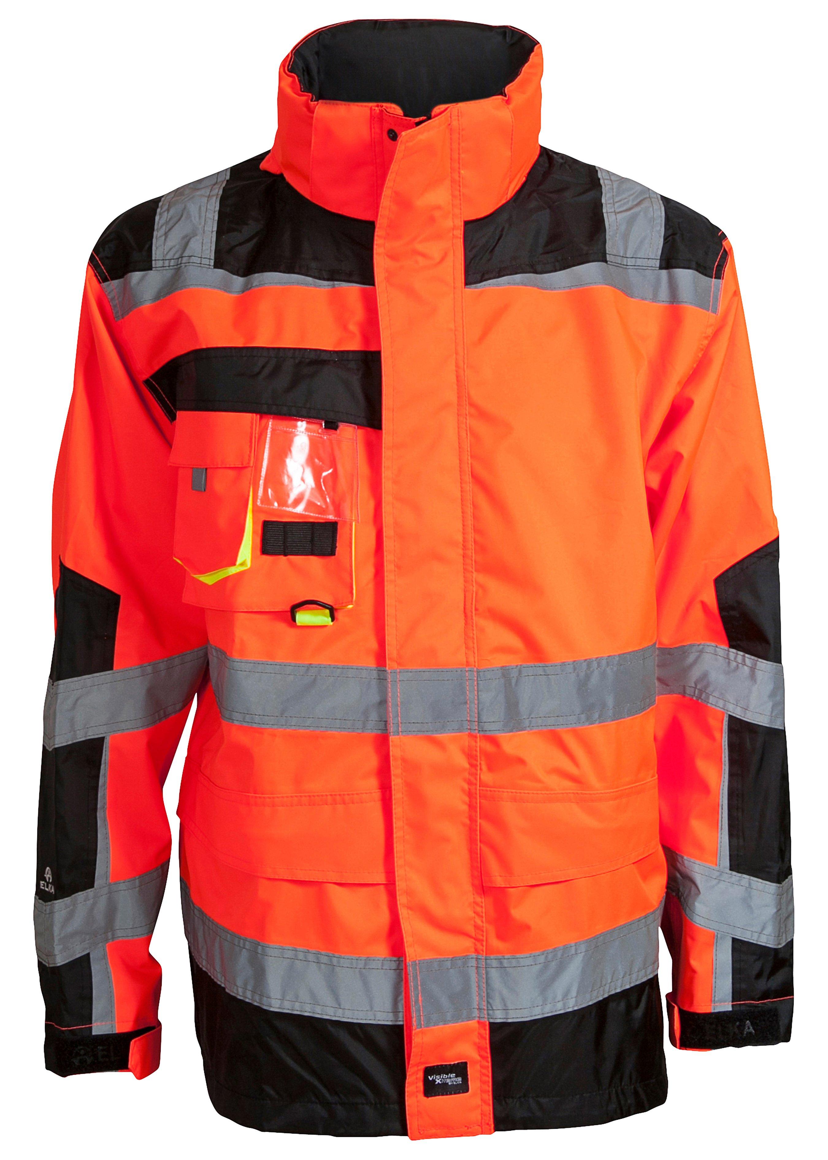 Elka Visible Xtreme Warnschutz Regenjacke 225154L 1