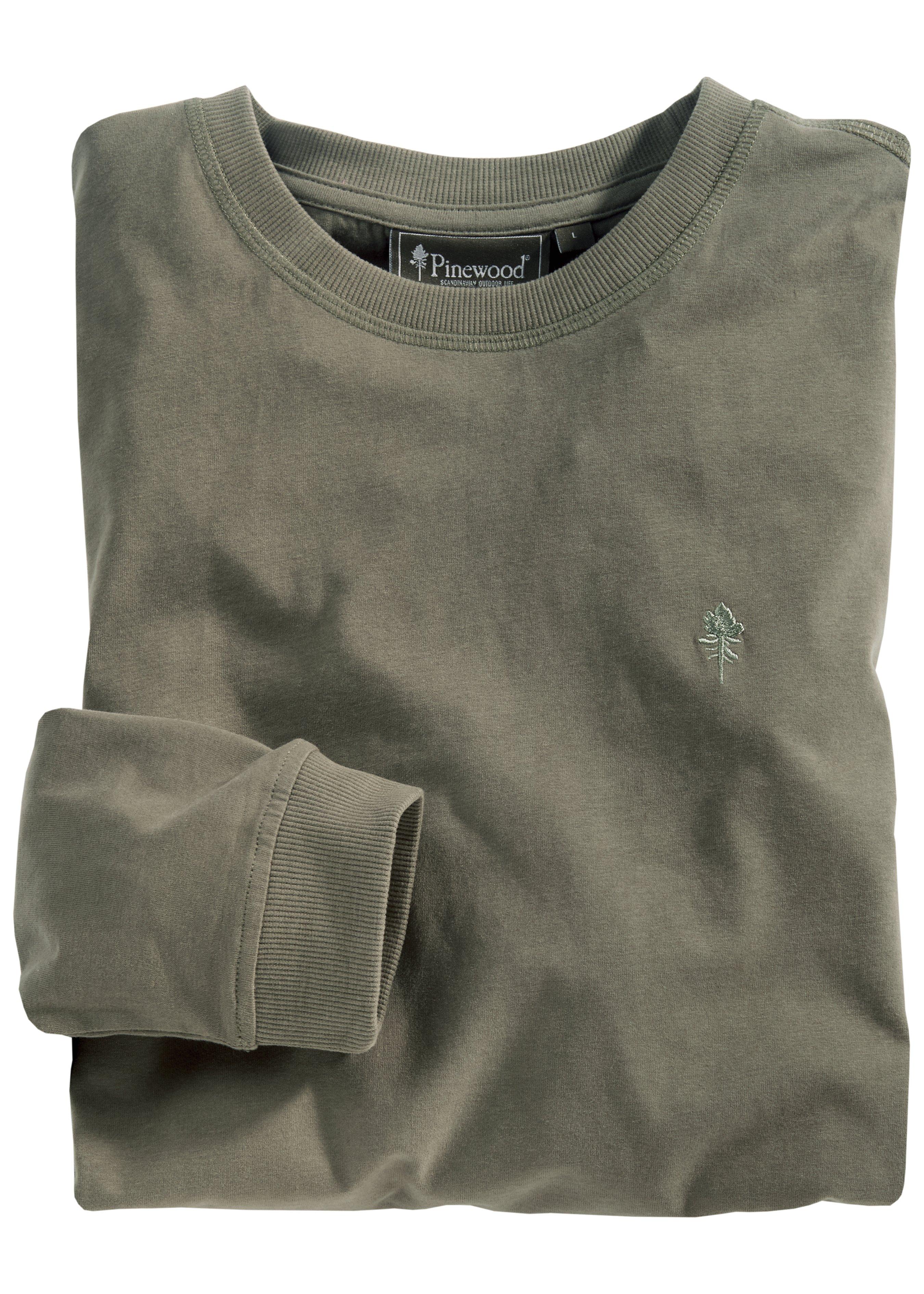 Pinewood Langarm-Shirt Peached (5404) 284969XL 2