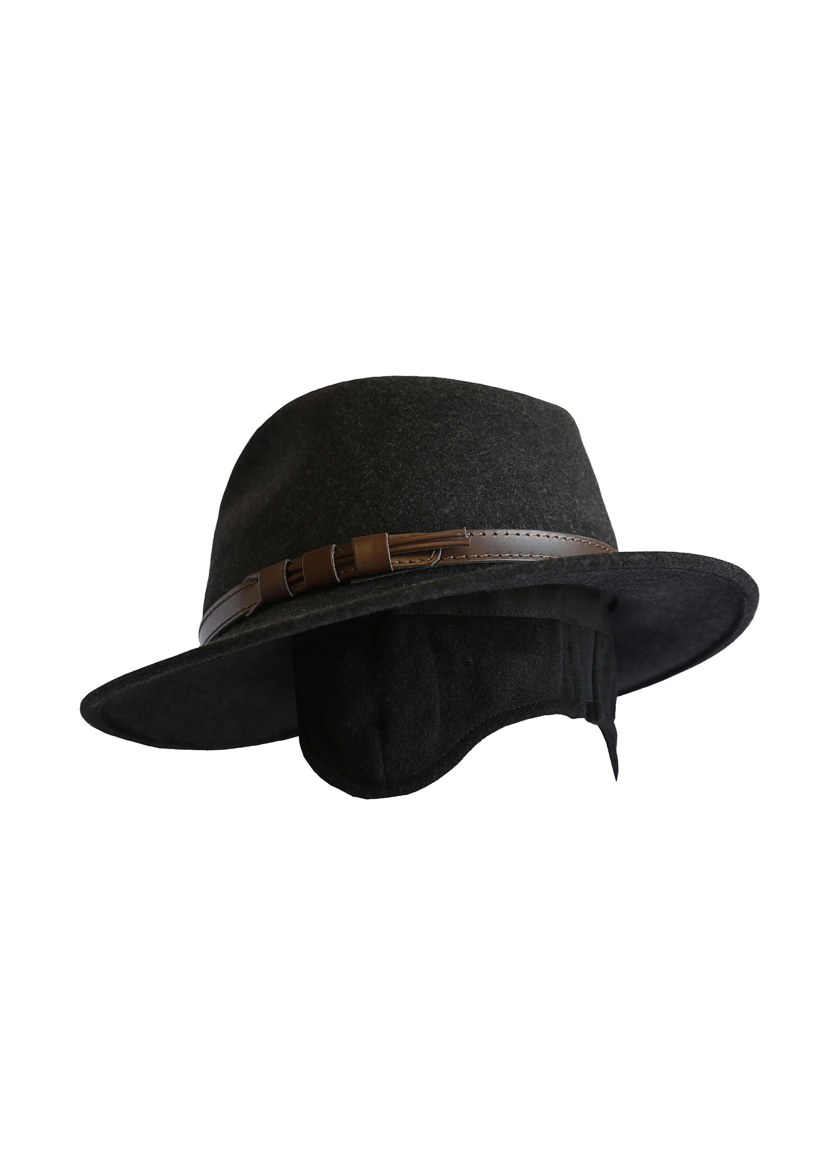 Chapeau en feutrine avec protection d'oreilles 26471255 2