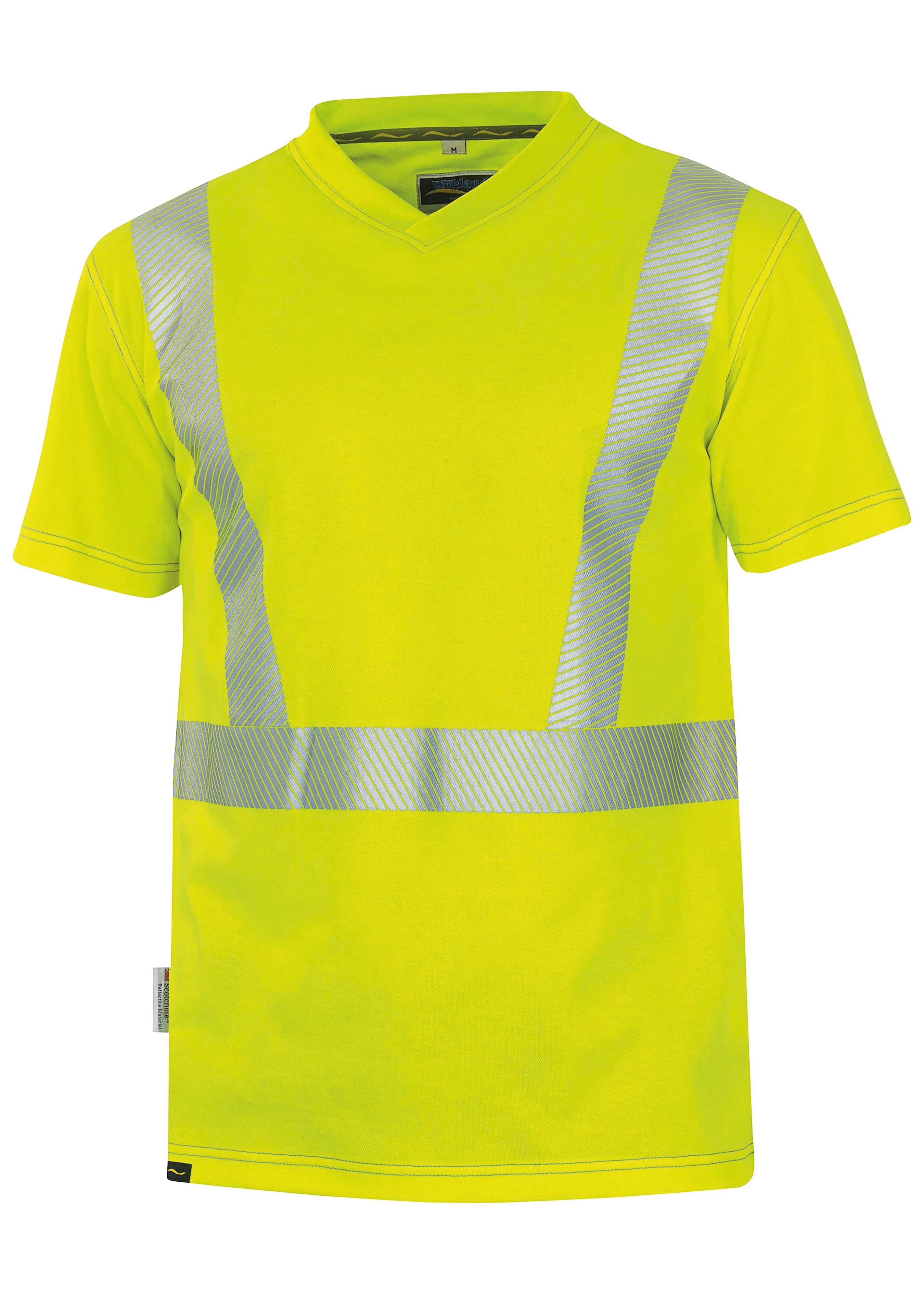 Wikland Warnschutz T-Shirt 1309, EN ISO 20471 Kl. 2 172353L 1