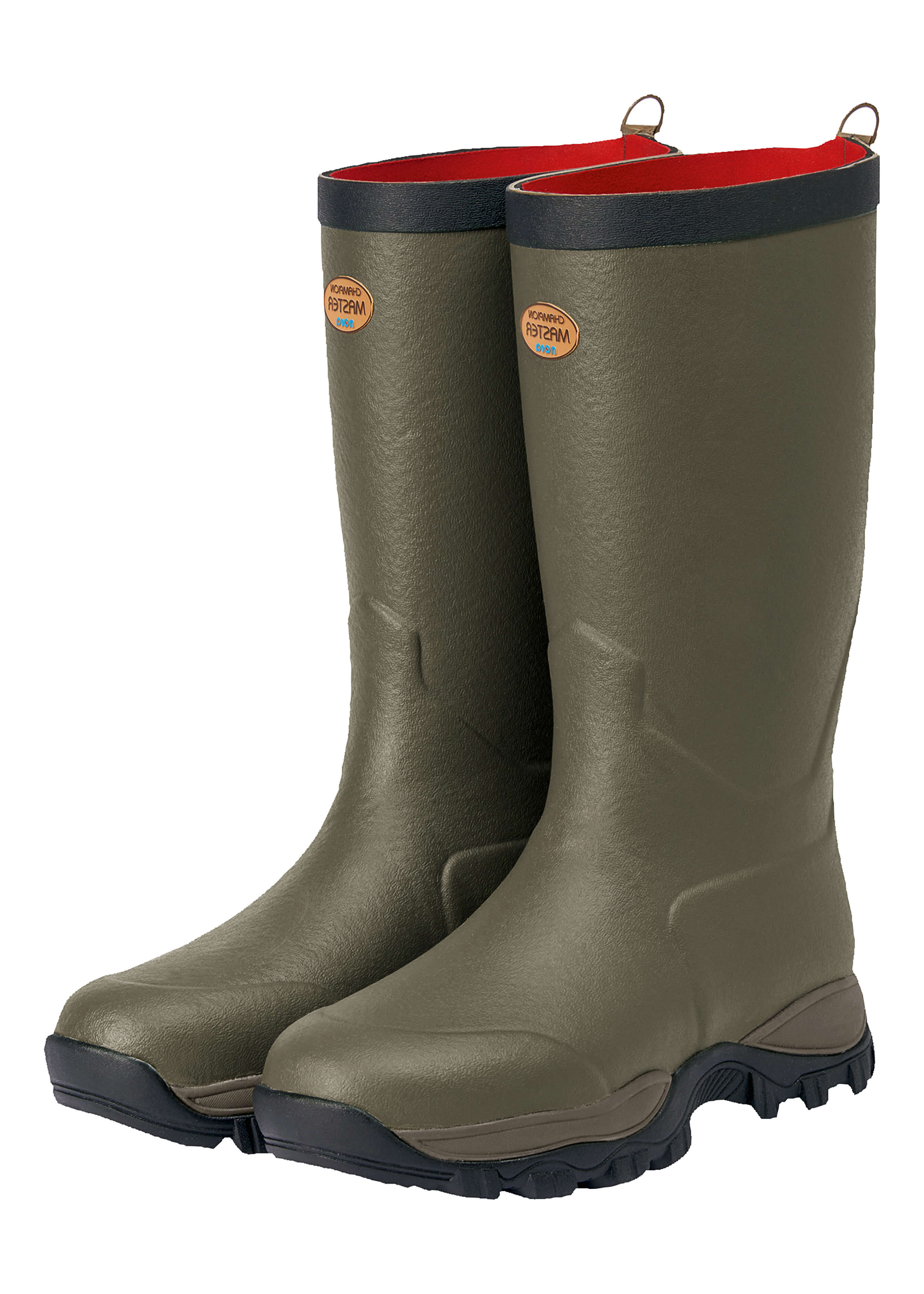 Demi-bottes en caoutchouc naturel et néoprène Zermatt pour cou-de-pied haut 52072310 1