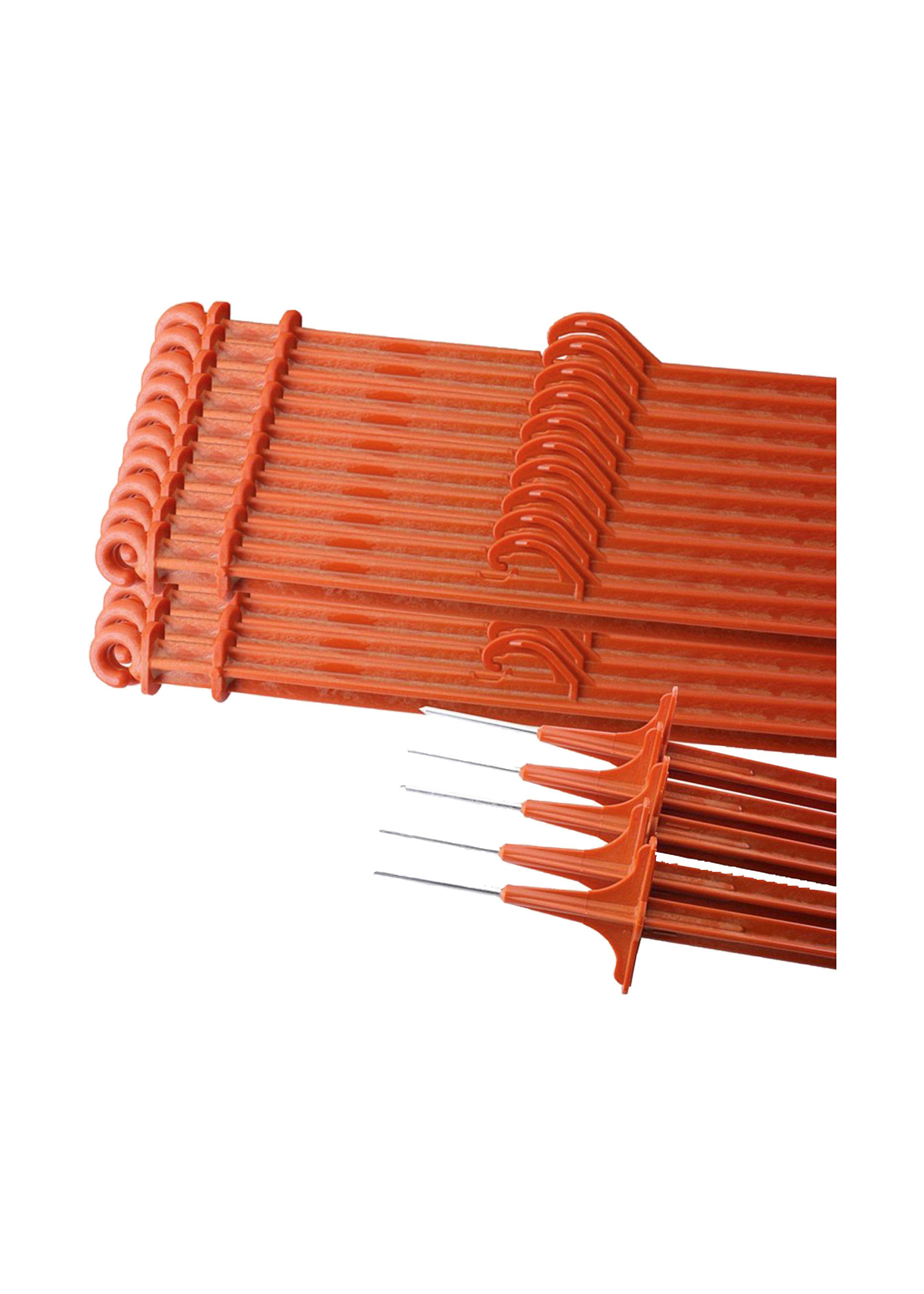 Piquets de clôture Profi Variant renforcés de fibre de verre (25 pcs.) 255054 1
