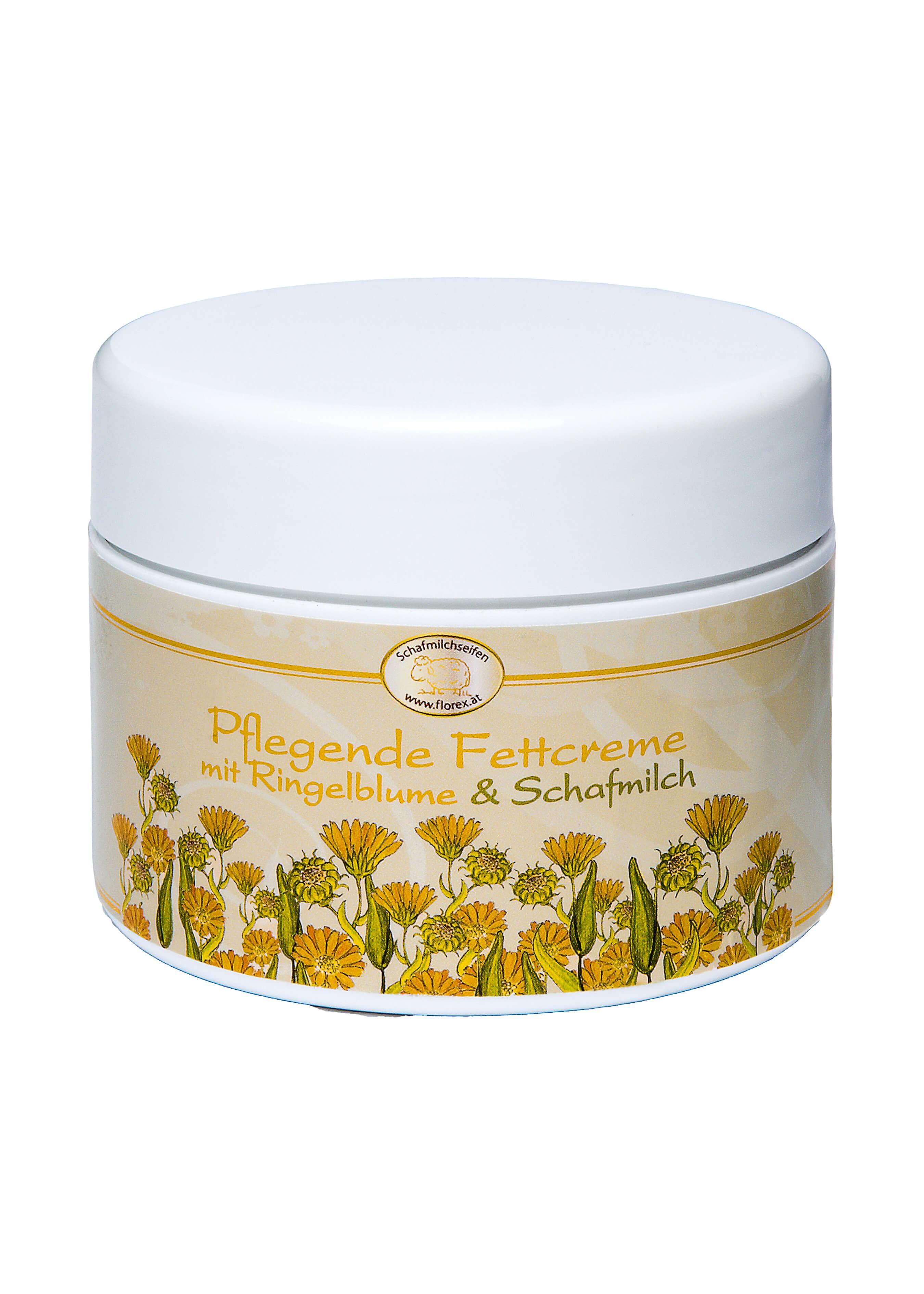 Fettcrème Ringelblume mit Schafmilch L19400 1