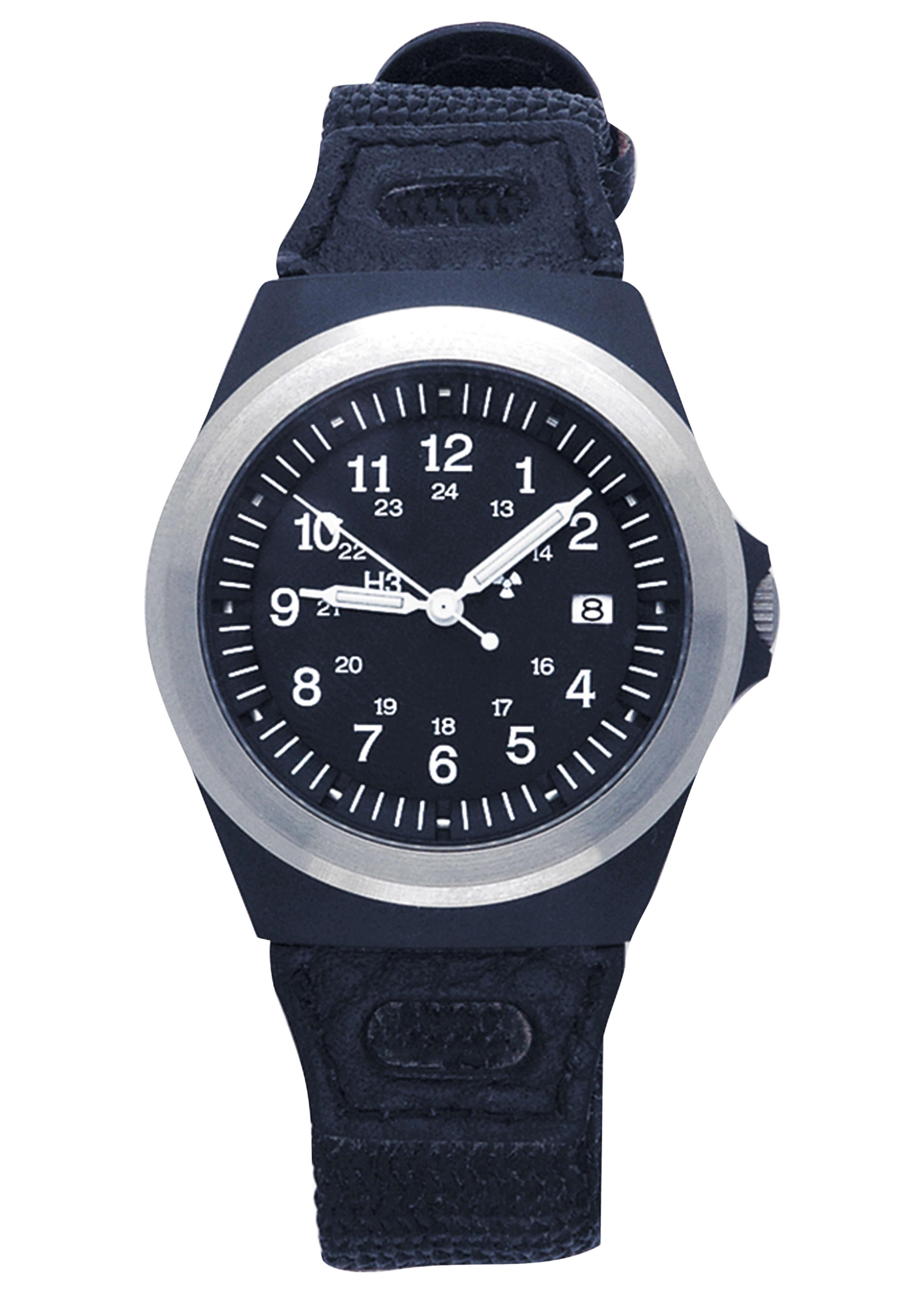 Traser Uhren Armbanduhr H3 mit Beleuchtung grün L2052 1