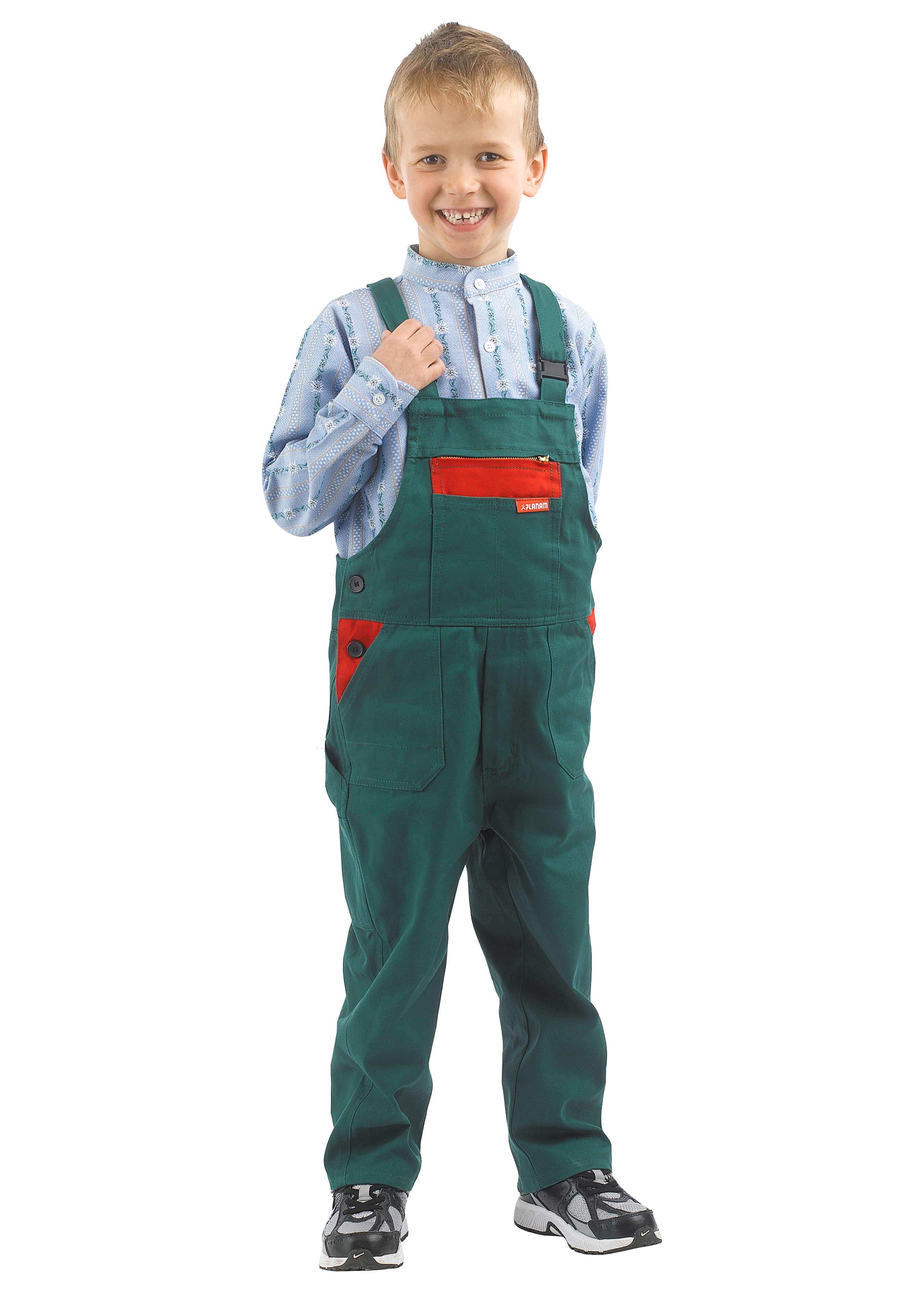 Planam strapazierfähige Kinder Arbeitslatzhose 276023110 1