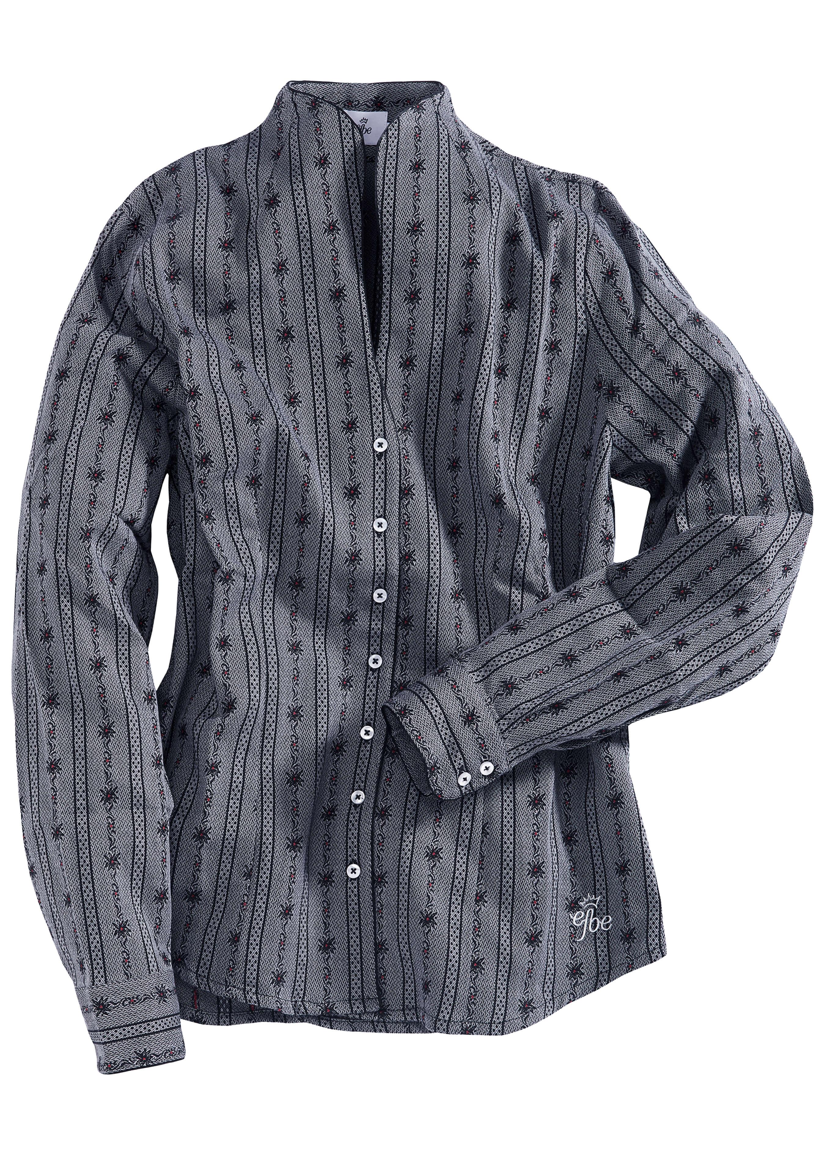 Blouse edelweiss dames avec un col corolle 273712L 1