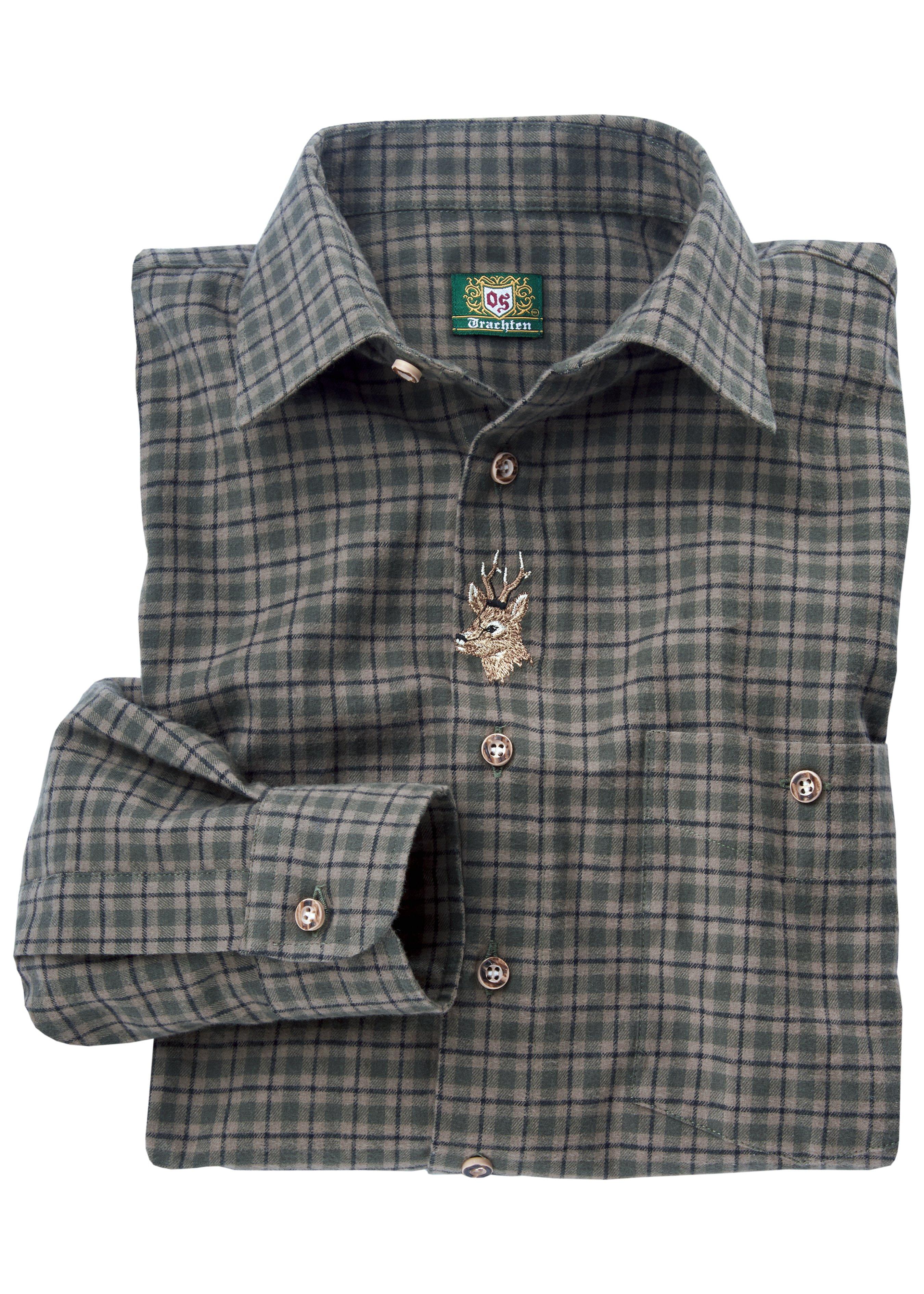 Chemise à manches longues avec motif de cerf 28302450 1