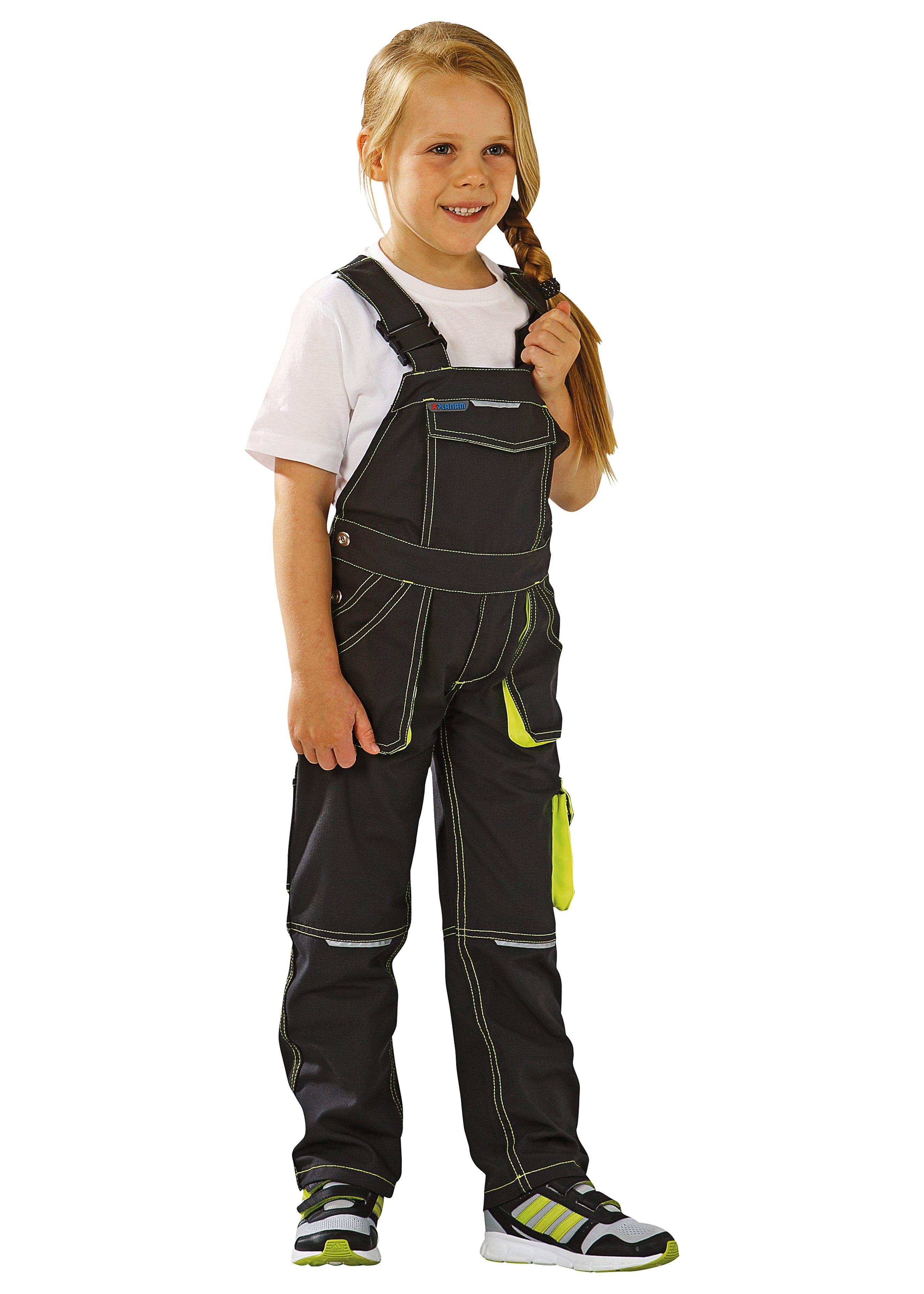 Salopette de travail Junior robuste pour enfants en 3 couleurs 183212110 1