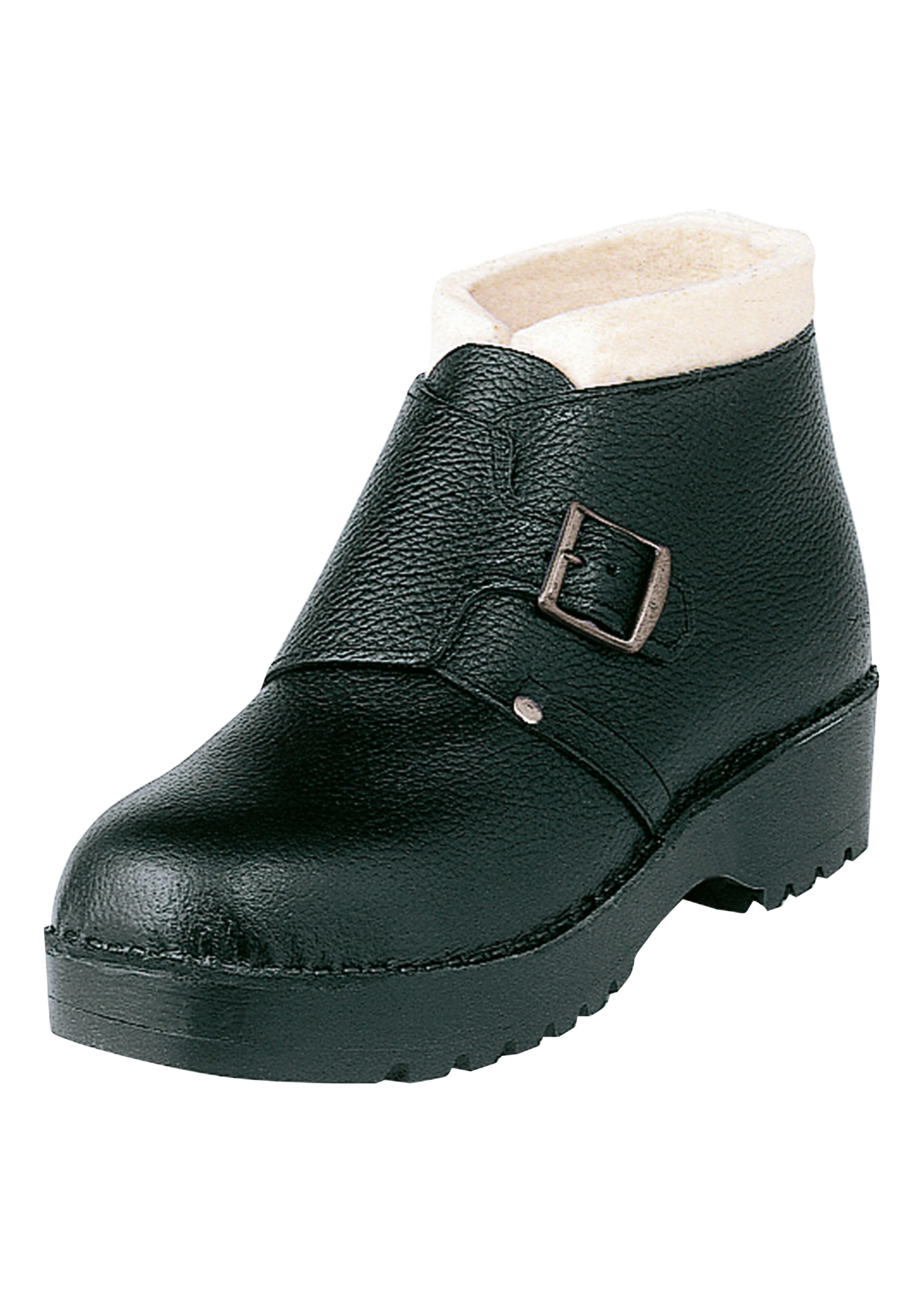 Chaussure avec semelle en bois L420237 1